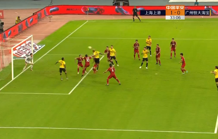 世界级名哨7分钟内2次吹掉保利尼奥进球!判罚准到恒大无人去争