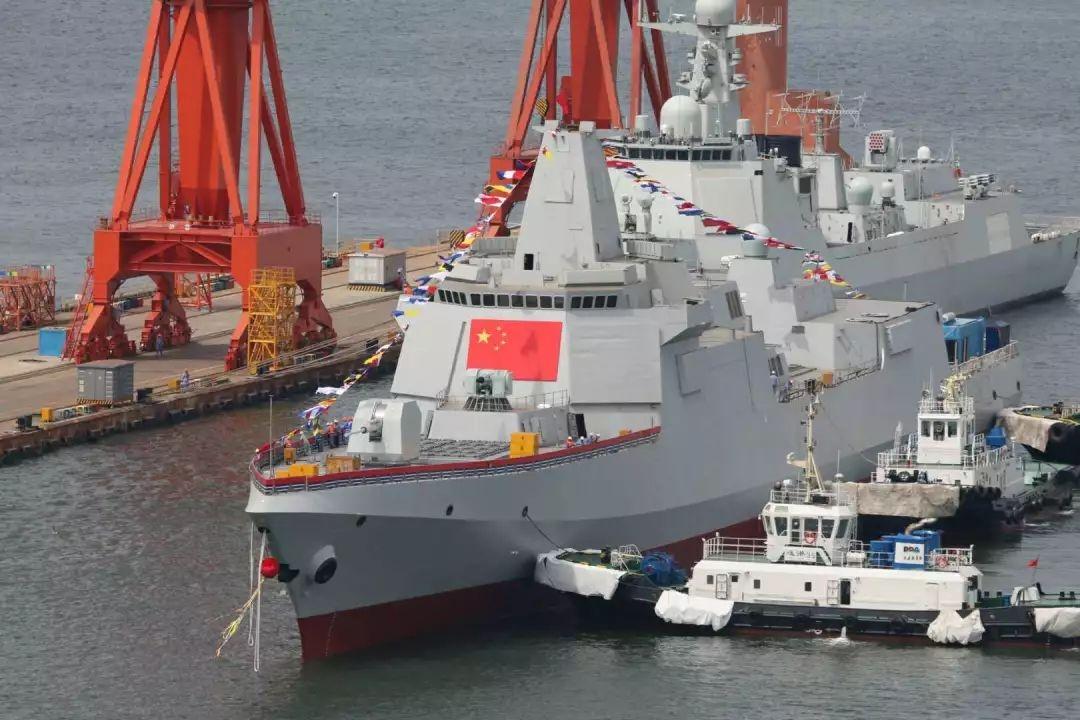 美媒:中国海军规模将是美军2倍 很快不是对手了!