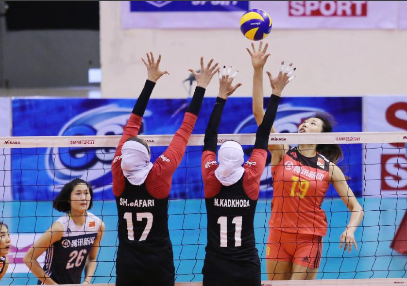 中国女排二队挺进亚洲杯4强,半决赛将迎战东道主