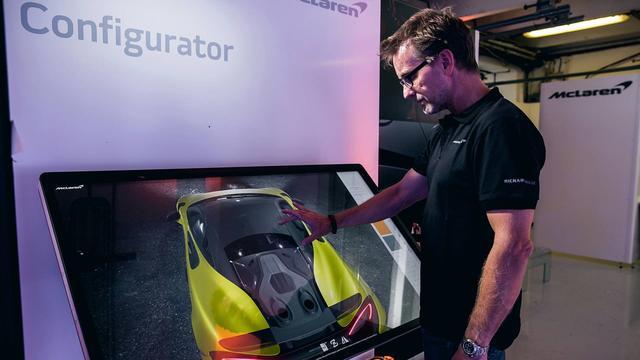 现在你可以通过一块屏幕创造出属于你的迈凯伦600LT了