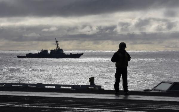 杜鲁门号航母大队在短暂返回诺福克后重返欧洲战区