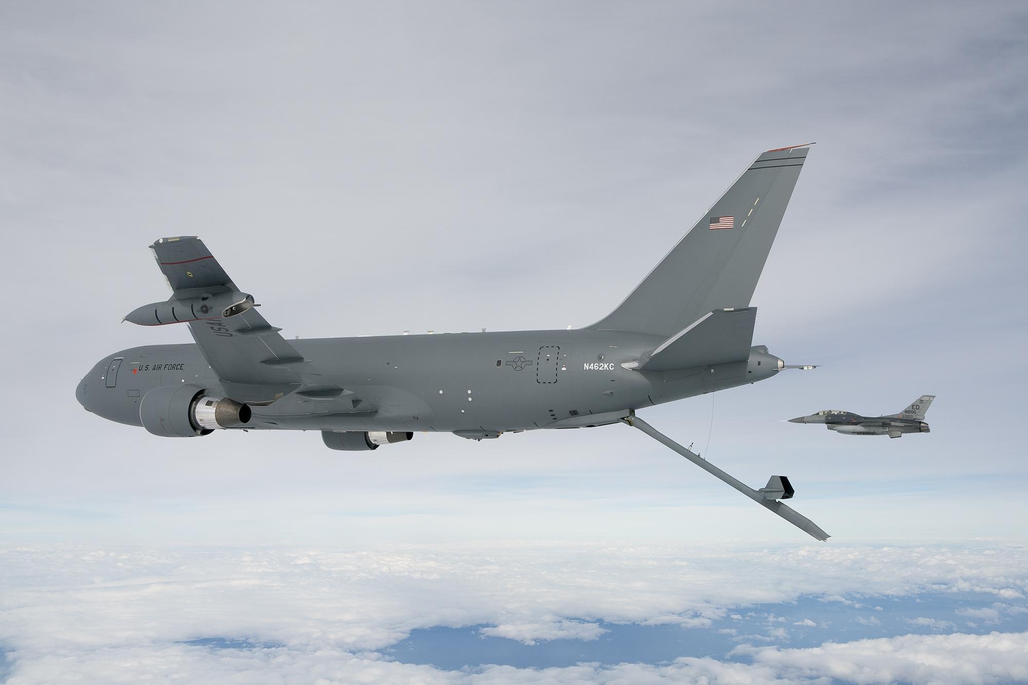底气十足?美空军空中加油机欲增加14个中队