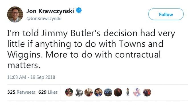 巴特勒正式申请交易!下家只愿续约三队 湖人火箭出局?