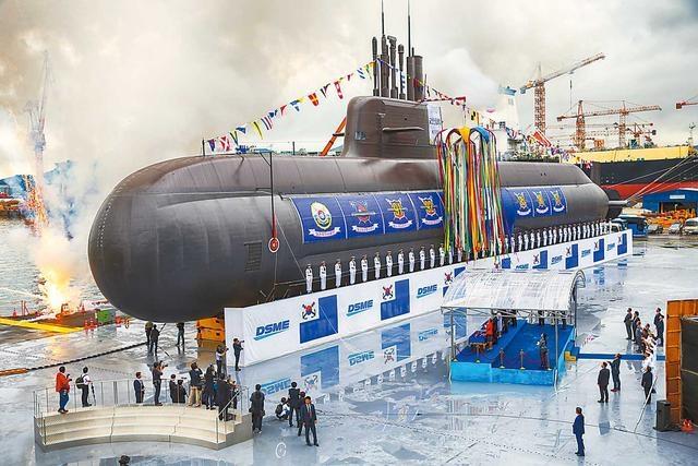 志在远洋,韩国新潜艇装备弹道导弹和射程1500公里巡航导弹