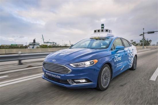 福特自动驾驶汽车拟为SUV车型 搭载混动系统