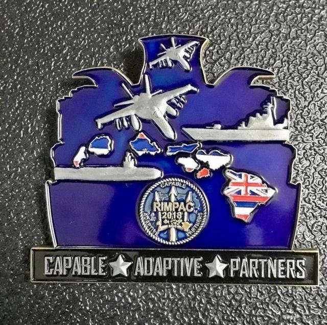 美军纪念章竟然出现中国052D,赤裸裸的偷拍,这个要收费!