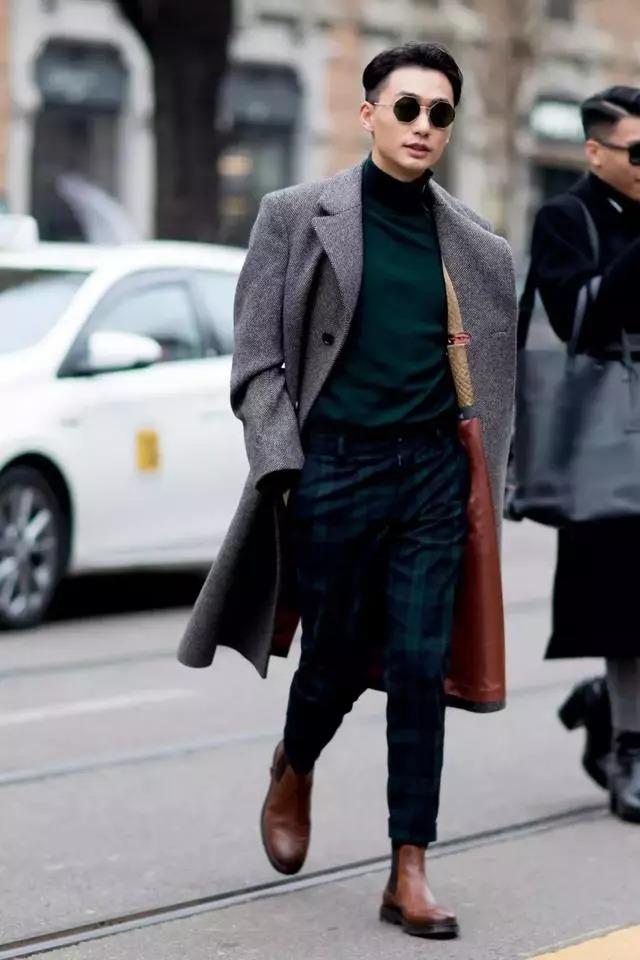 男人的质感穿搭,从一双切尔西靴开始