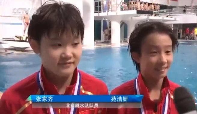 中国跳水又一位12岁的神童横空出世!已拿全国冠军获央视关注