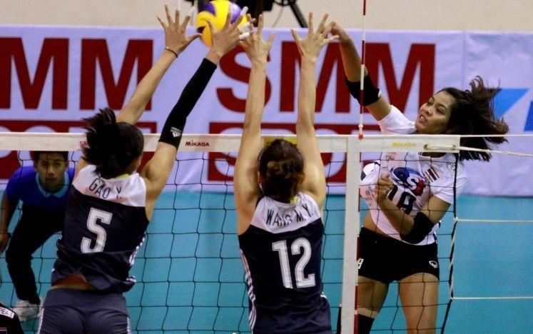 中国女排二队淘汰泰国与日本争冠,刘晏含狂砍42分