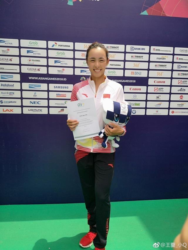 一个月内狂揽2冠+144万奖金,甜美女神给低谷中的中国网球带来惊喜