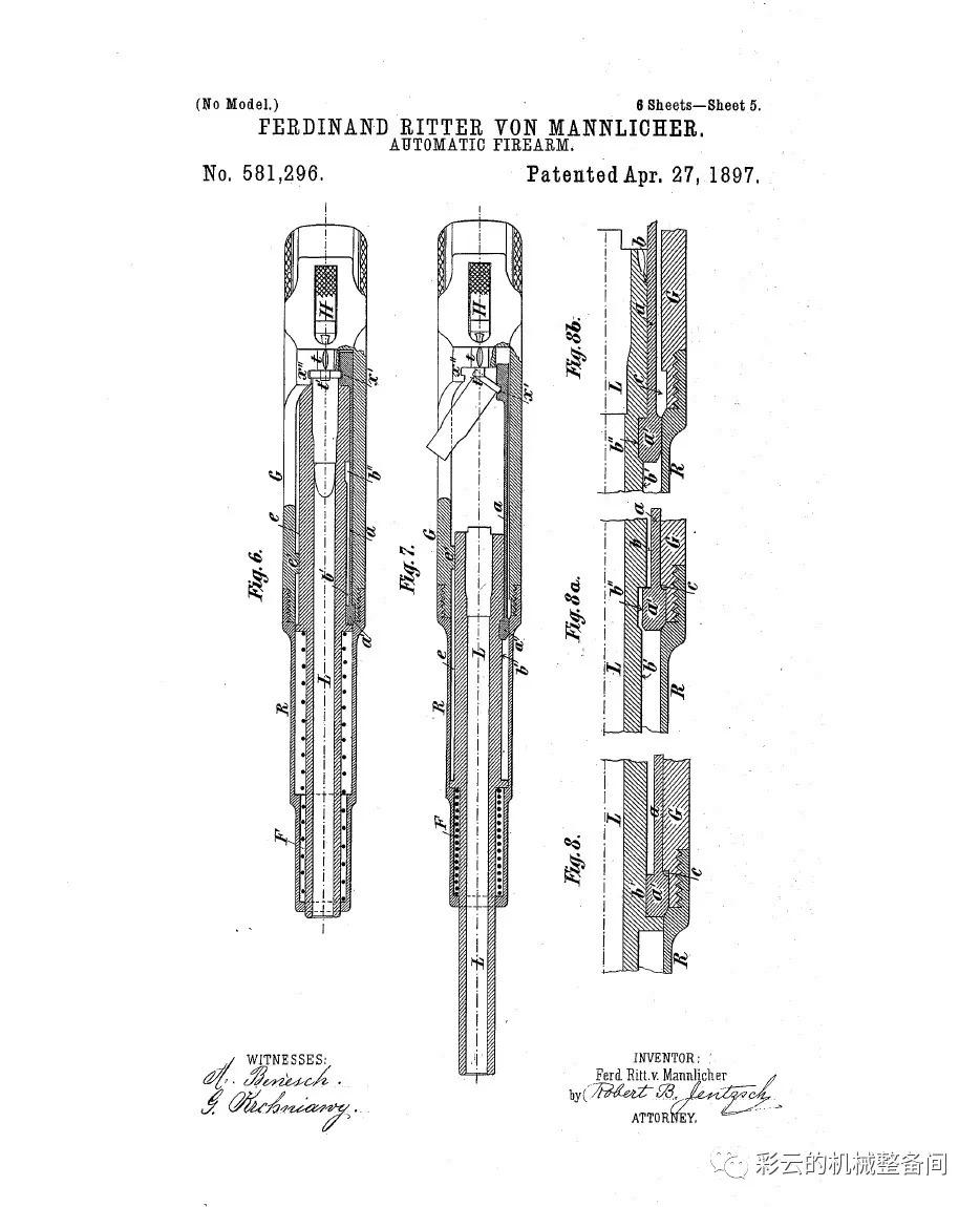 读者点登:枪管前冲式自动原理