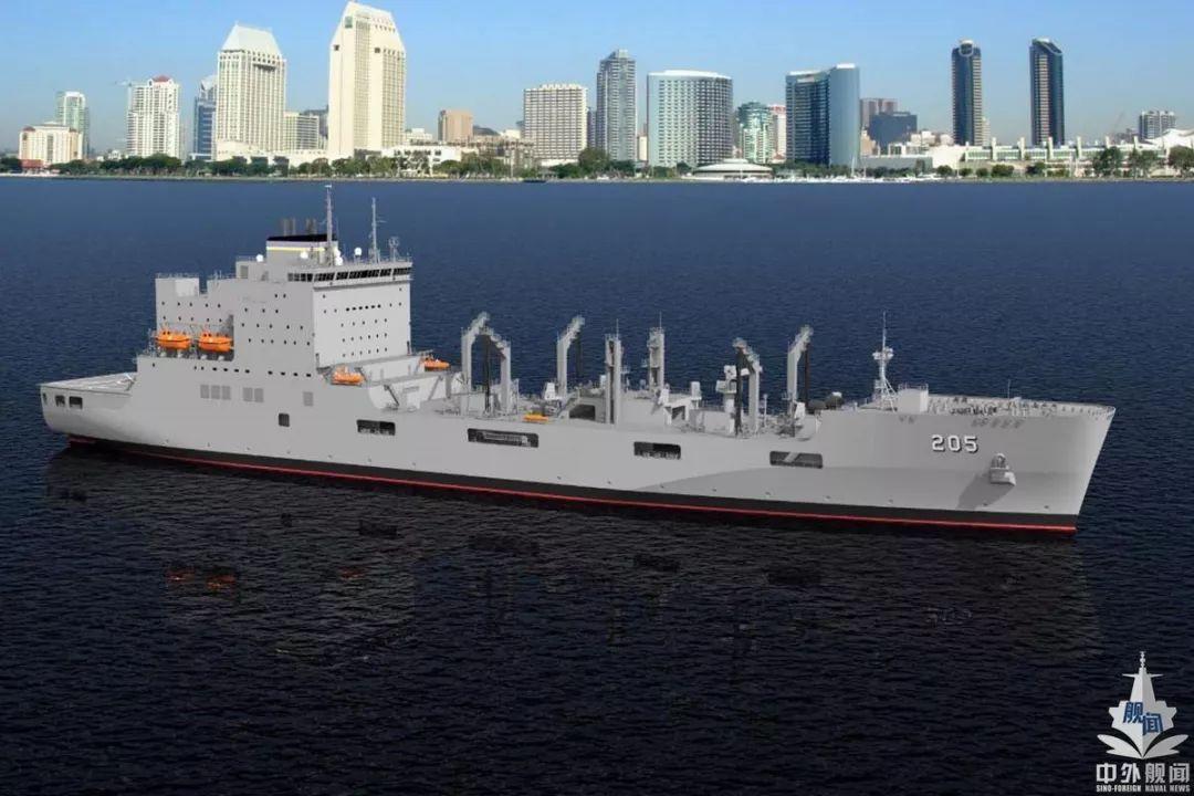 美国开建新一代大型舰队给油舰 综合补给舰将被弃