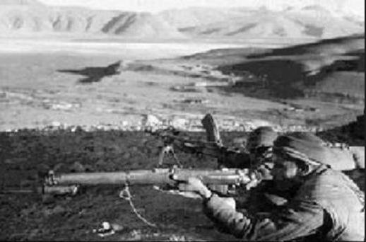 中印边境自卫反击战