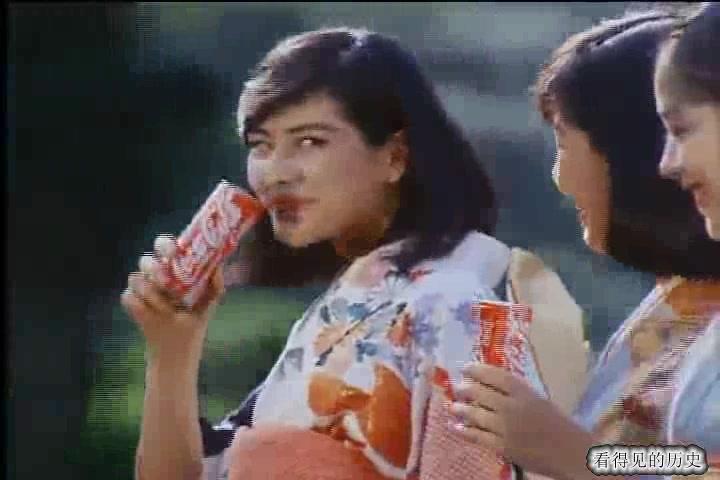 80年代日本可口可乐广告 拍得真是有水平
