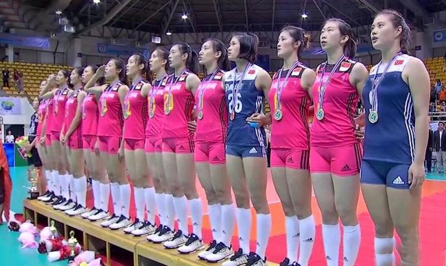 厉害了女排!6届亚洲杯中国5金1银 近3次二队阵容夺冠