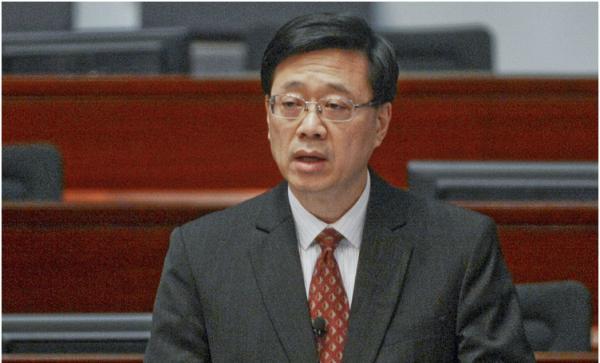 """香港保安局长详解""""香港民族党""""行径"""