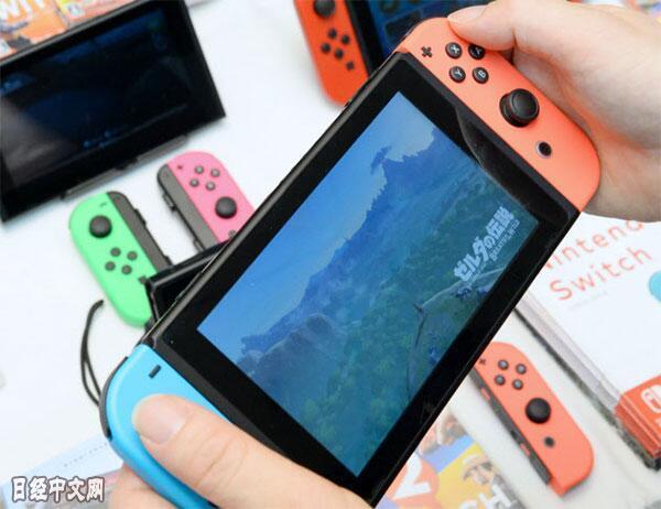 日媒:任天堂正从销售游戏软件的业务模式转型