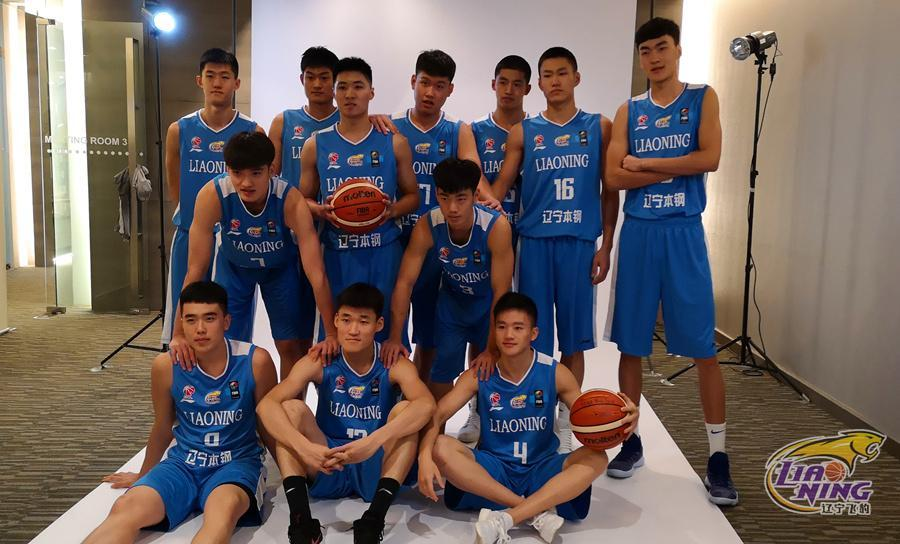 辽篮亚冠赛前首次训练,年轻队员感受大赛气氛