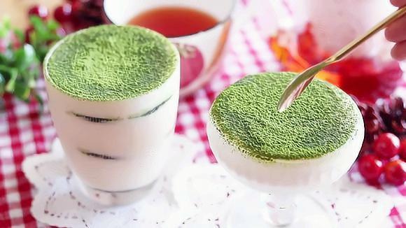 日本美食——抹茶和奥利奥的提拉米苏