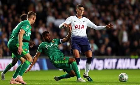 联赛杯:加扎尼加两扑点,热刺2
