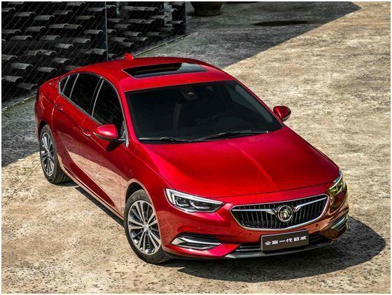 全新车型别克君威,带来更时尚的汽车产品
