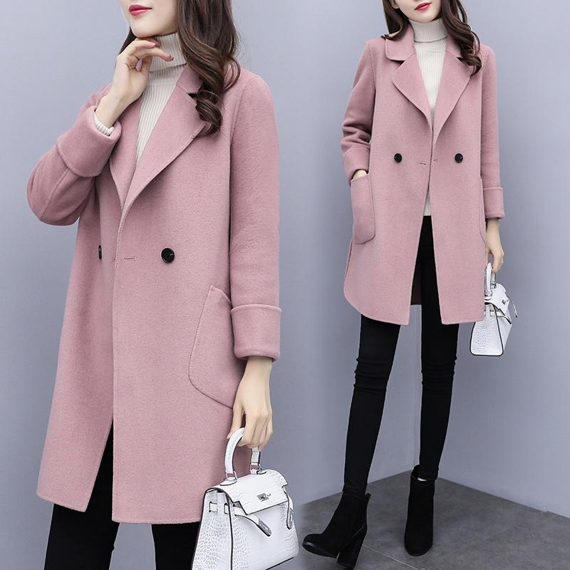 今年别买羽绒服!现流行呢大衣,优雅洋气又不贵,谁穿谁图片