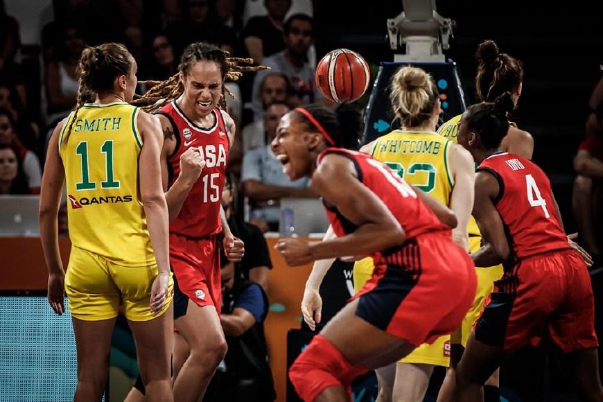 女篮世界杯排名:美国首次3连冠 中国第6大黑马第4