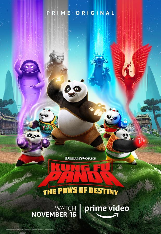 《功夫熊猫》又出新作11月上线 大师阿宝正式收徒