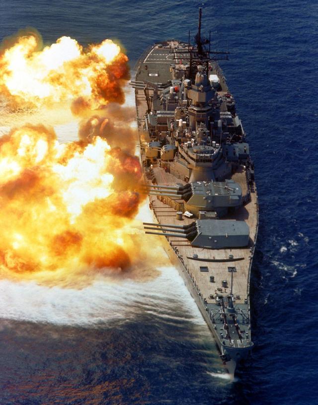 二战时最先进的战列舰是怎样的?海上巨无霸,是威力的象征