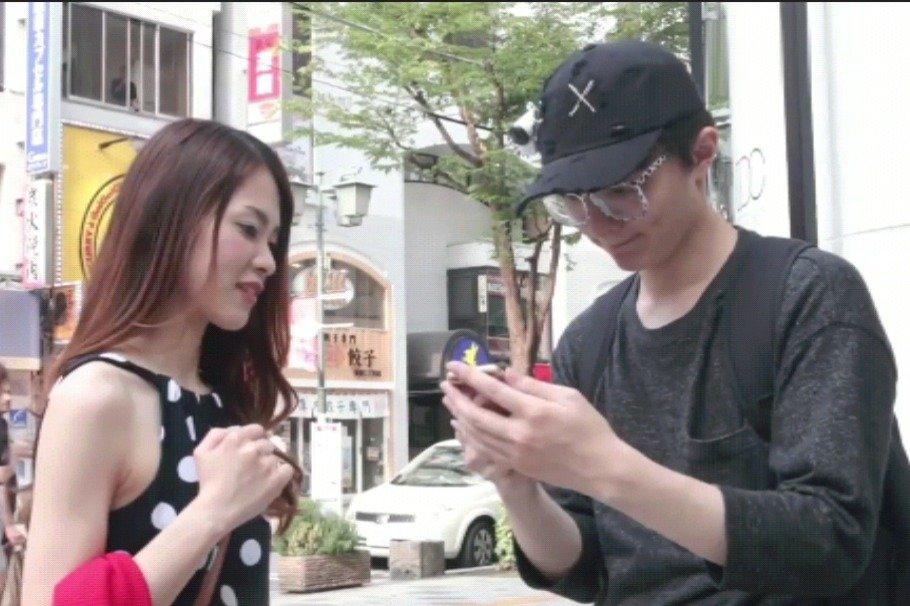 日本少女们火了,中国小伙如何在日本街头撩日本妹子?