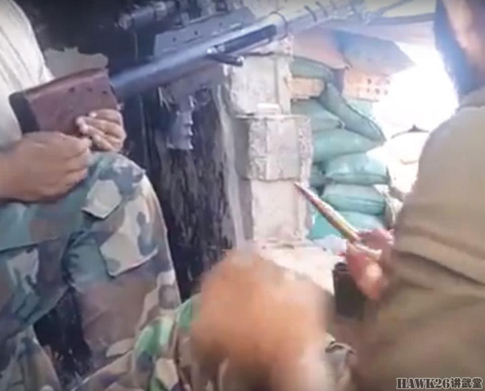 伊拉克民兵使用两款自制大狙打击恐怖分子 配备伊朗弹药