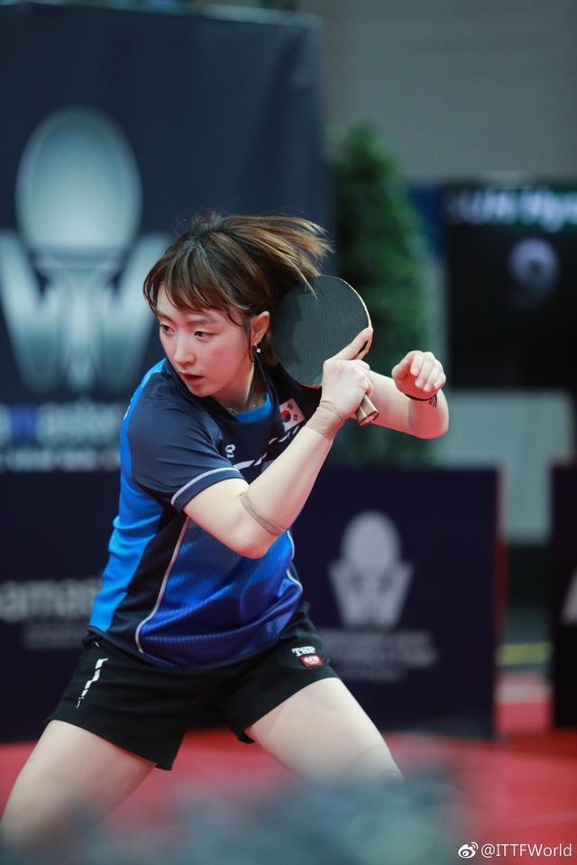 网评乒球世界杯5大女神:日本两人上榜成最大赢家,丁宁第4