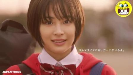 日本创意广告: 小女生的青春幻想!