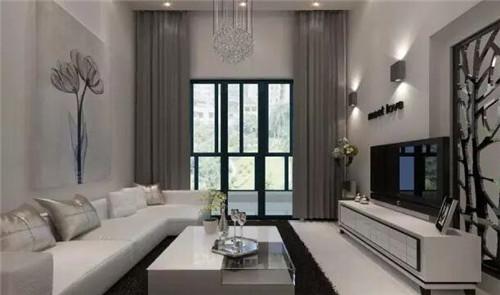 小复式楼装修样板间 ,打造40平华美小复式公寓图片