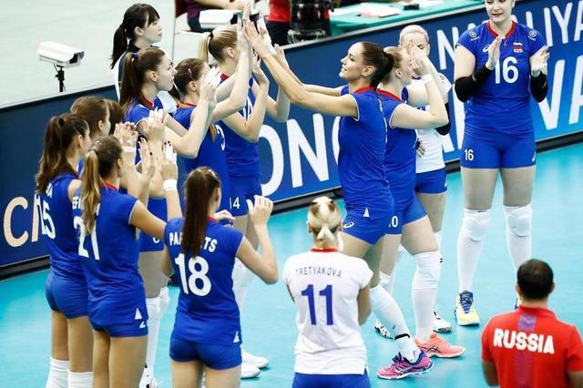中国女排仅输一场掉入死亡半区 想保6先打败俄罗斯
