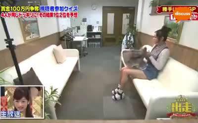 日本搞笑节目真敢做