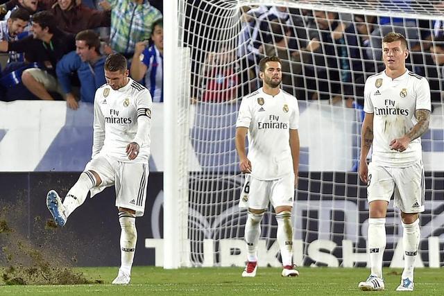 C罗加盟后尤文开局10连胜 皇马却连续4轮没有进球