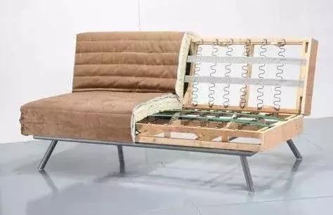 木方做横梁和直立支撑,结合多层复合板采用钉接方式制成的结构骨架.