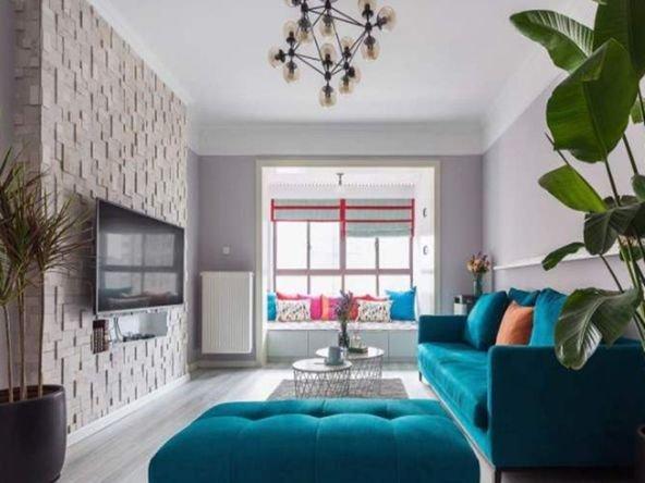 混搭风格三居室装修案例,93平米的房子装修多少钱?