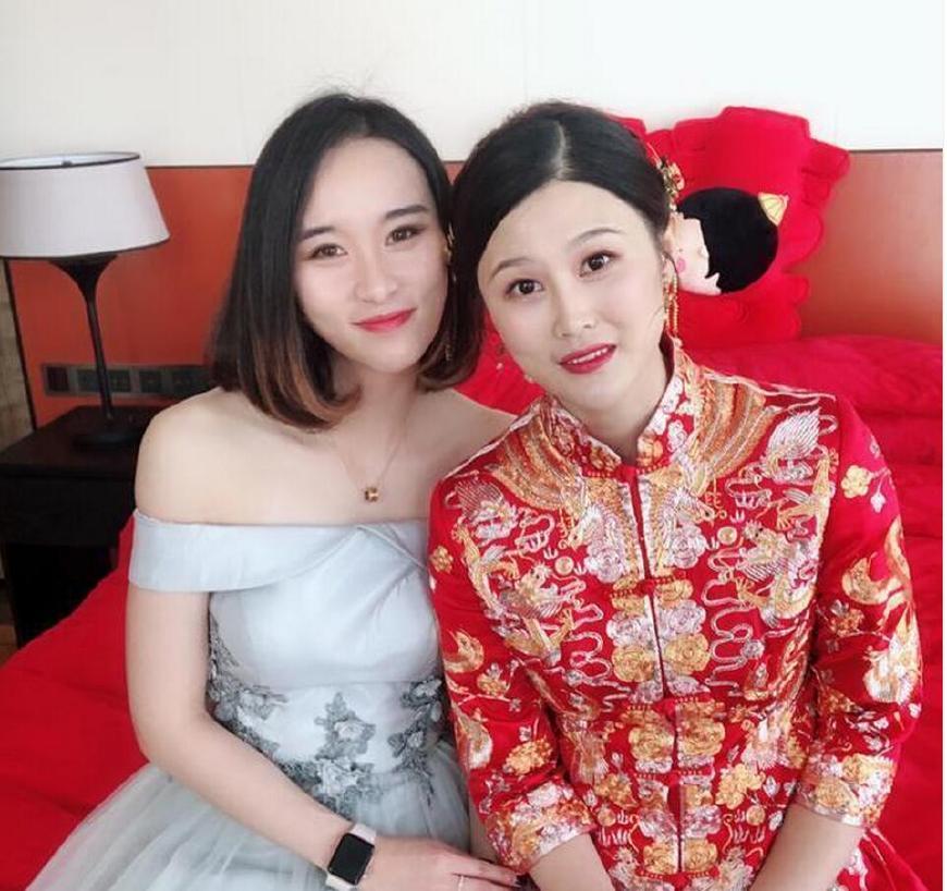 中国体坛又一美女冠军大婚 伴娘也是如花似玉