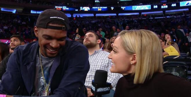 波什:必須要提醒人們我還沒退役,籃球在我心里