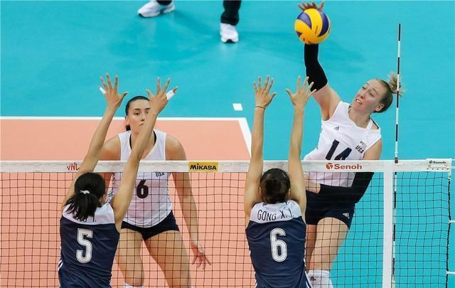再战宿敌中国女排需提防一暗箭,美国队雪藏MVP只为与朱婷对轰