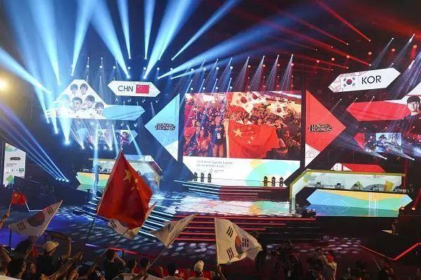 2018亚运会电竞英雄联盟决赛,中国VS韩国