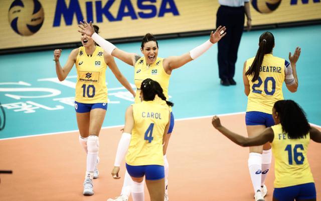 大逆转!巴西女排3-2赢下生死战 朱婷队友惨遭世锦赛首败