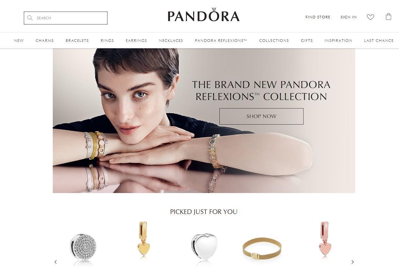 丹麦珠宝制造商 Pandora 推出简约风格的新产品线
