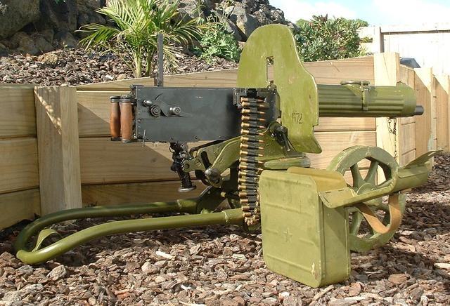 魔鬼真正的獠牙:1905式马克沁重机枪