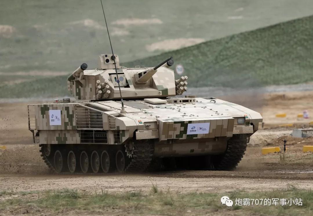 国产重步兵战车,防护紧随美洲狮!