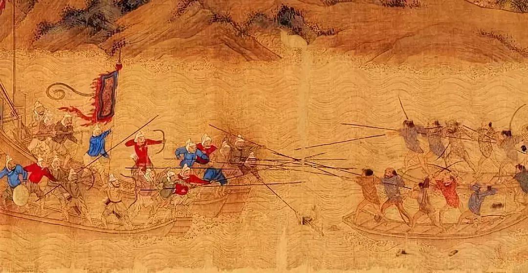 ▲明《倭寇图卷》中倭寇的形象
