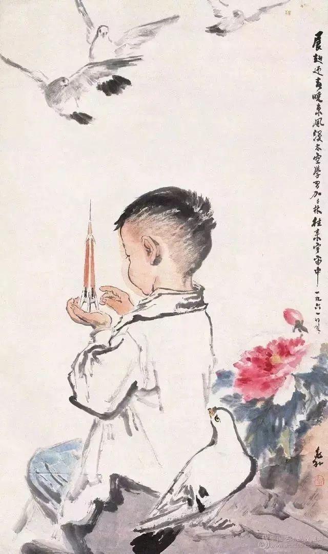 蒋兆和的中国人物画 用笔老辣 机趣横生