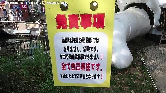 要签生死状才能进的日本动物园